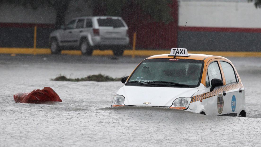 Videos | La tormenta tropical Hanna deja inundaciones y varias personas desaparecidas a su paso por el norte de México