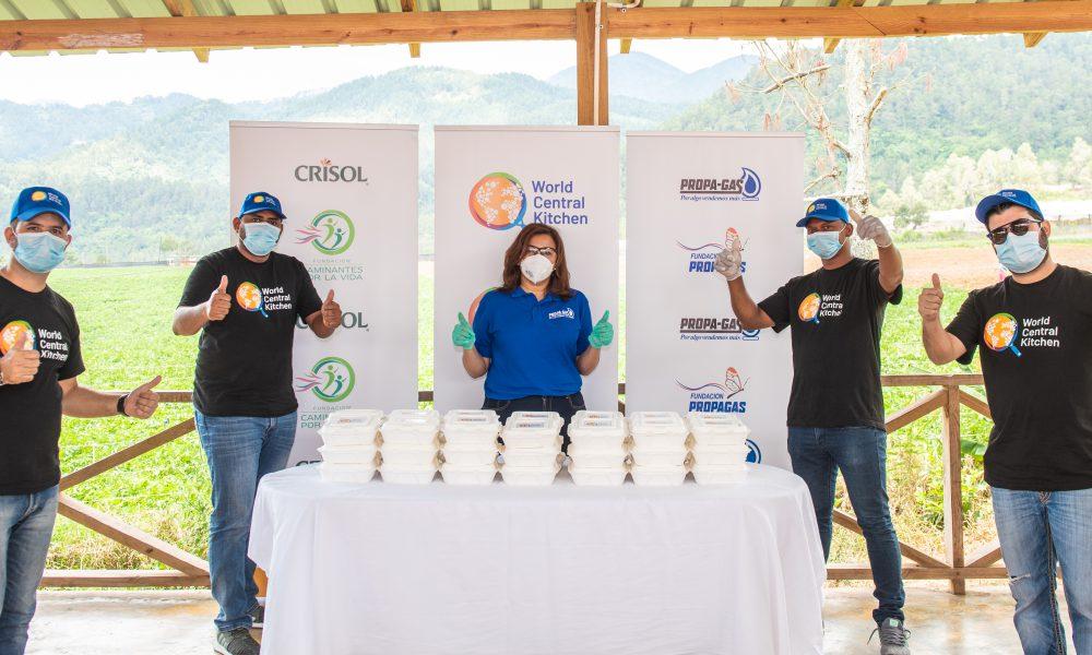 Una alianza de grandes marcas dominicanas trae a World Central Kitchen al país