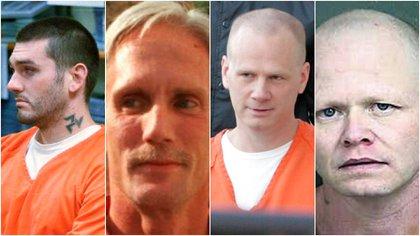 Quiénes son y qué hicieron los primeros cuatro convictos que serán ejecutados en una cárcel federal de Estados Unidos en 17 años