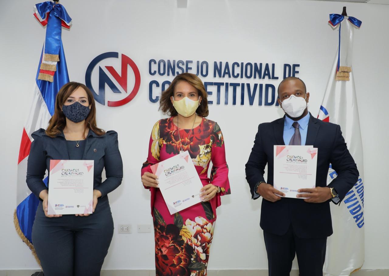 Entregan Guía Metodológica para Ciudades y Territorios Creativos a la Liga Municipal Dominicana