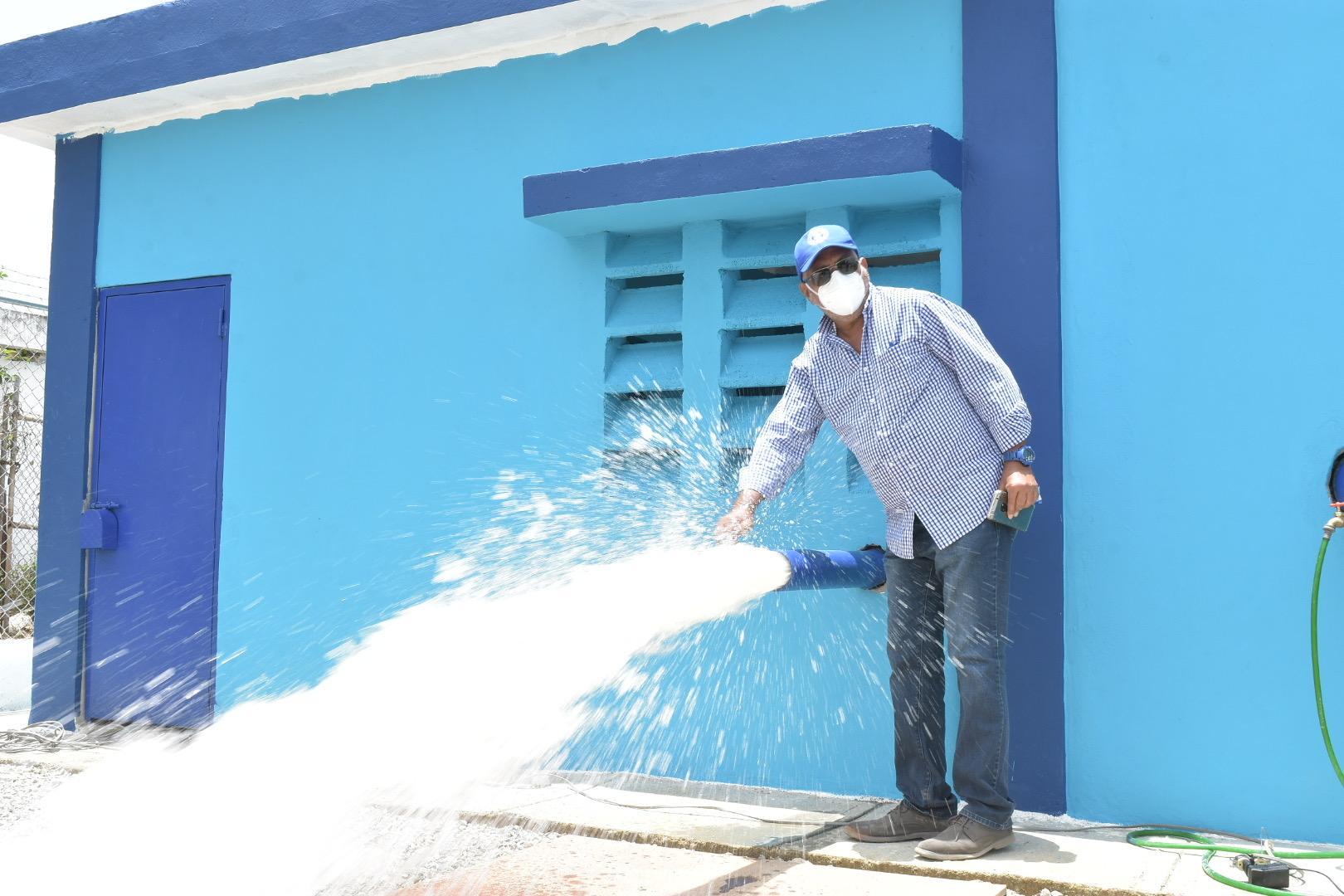 El INAPA pone en servicio nuevas obras en varias provincias del país