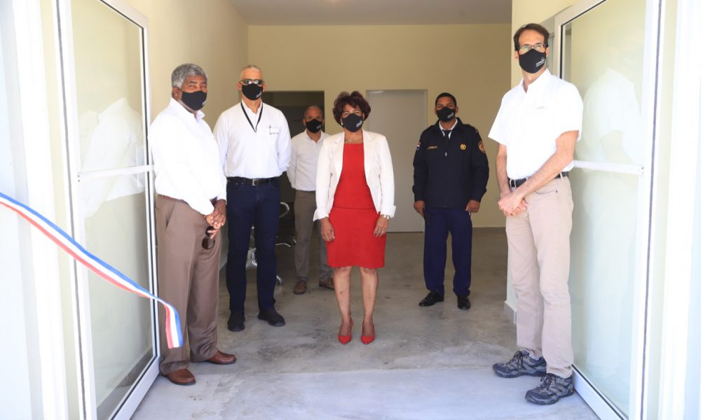 Domicem inaugura Estación de Bomberos en Sabana de Palenque