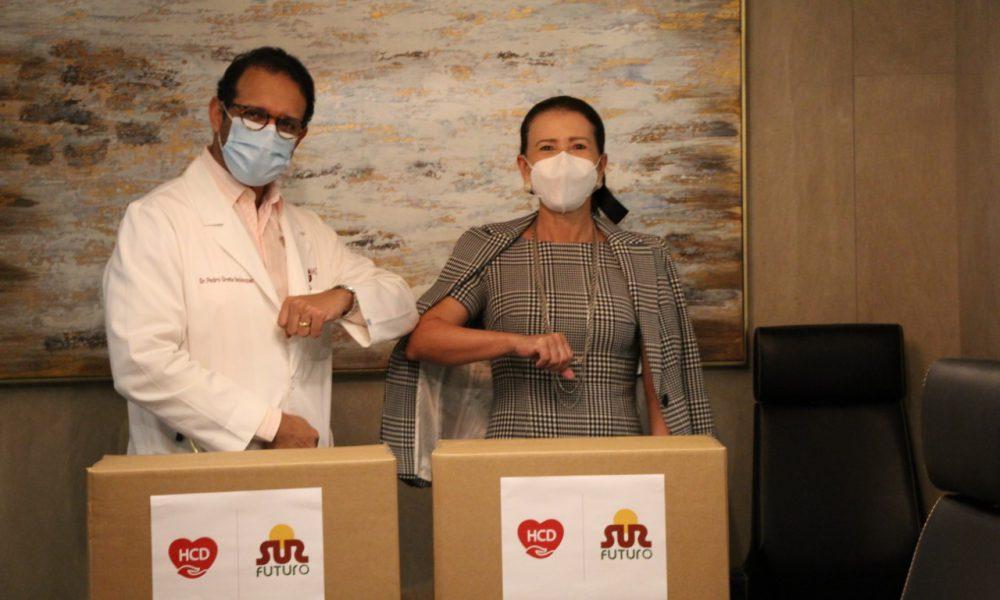 Sur Futuro y Heart Care Dominicana acuerdan trabajos en favor de sectores vulnerables al COVID-19 en el Distrito Nacional