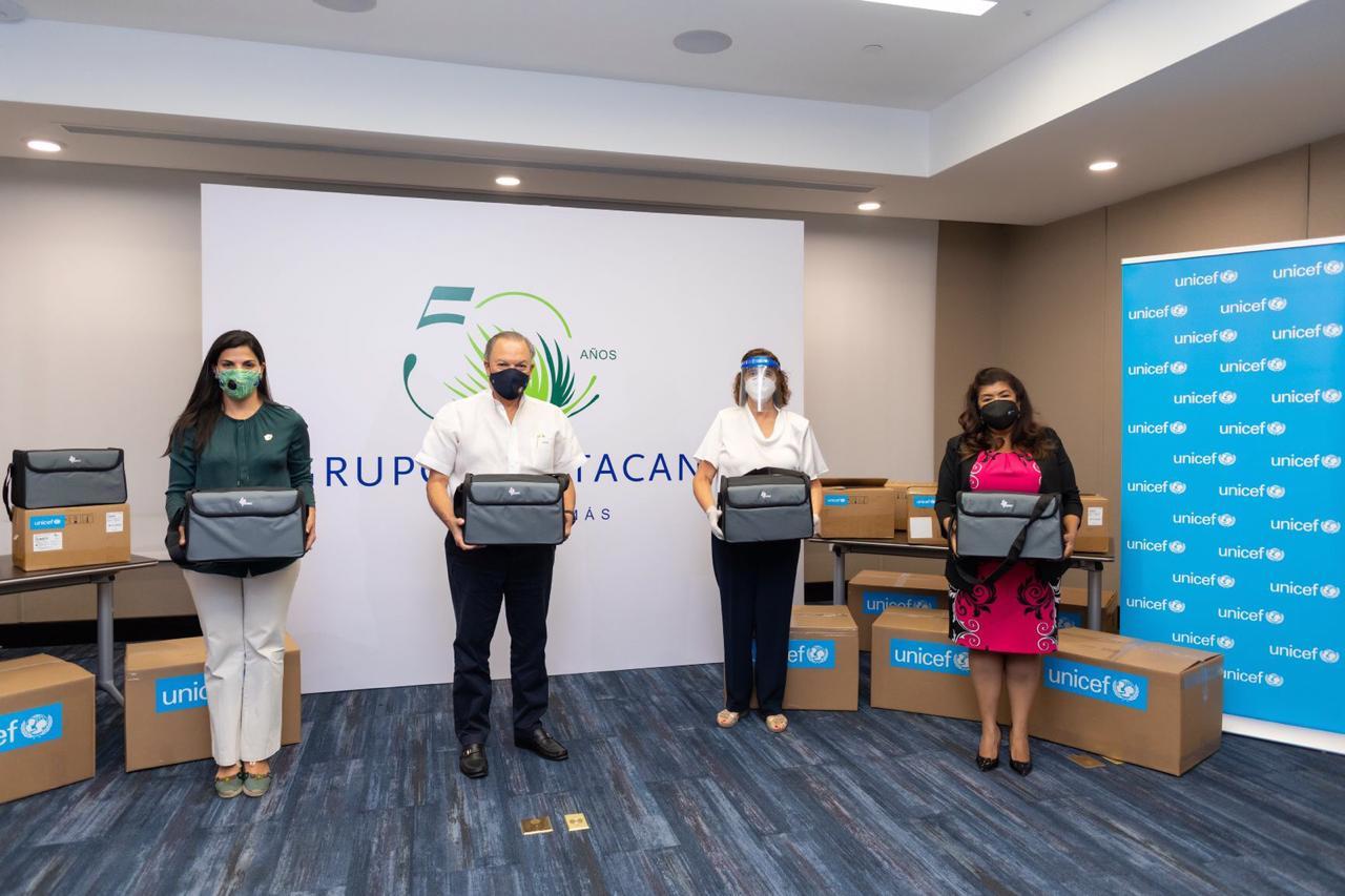 Video | UNICEF entrega 9 ventiladores adicionales al SRS por solidaridad del Grupo Puntacana