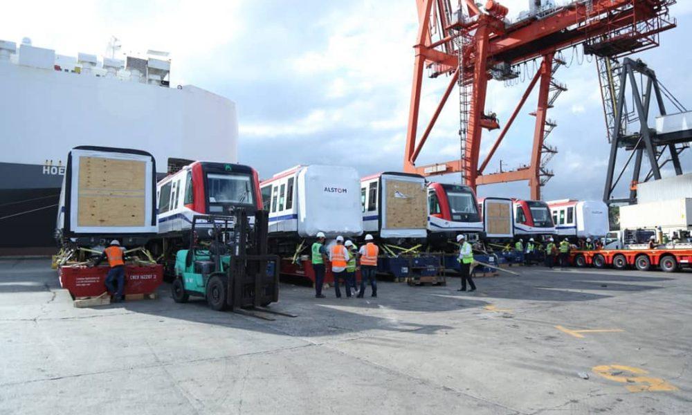 Este jueves llegarán al país seis nuevos vagones para el Metro de Santo Domingo