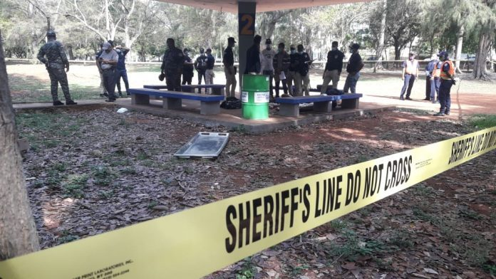 Policía Nacional investiga caso de hombre encontrado muerto en parque Mirador Sur