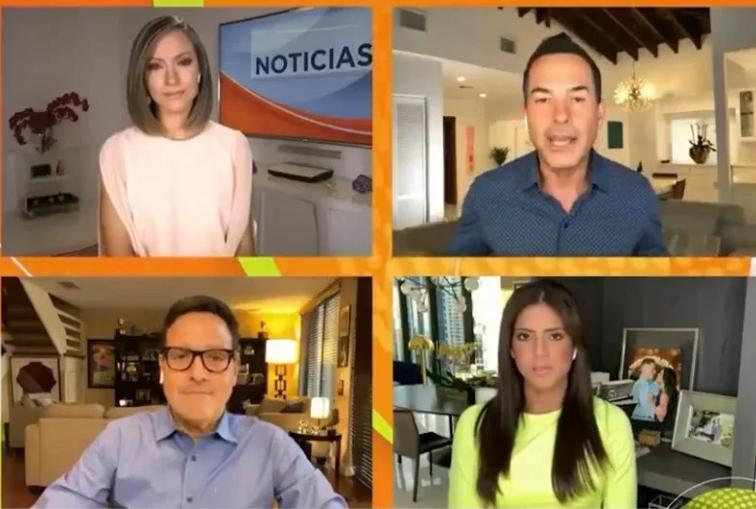 Presentadores de Despierta América comparten los resultados de sus pruebas de COVID-19
