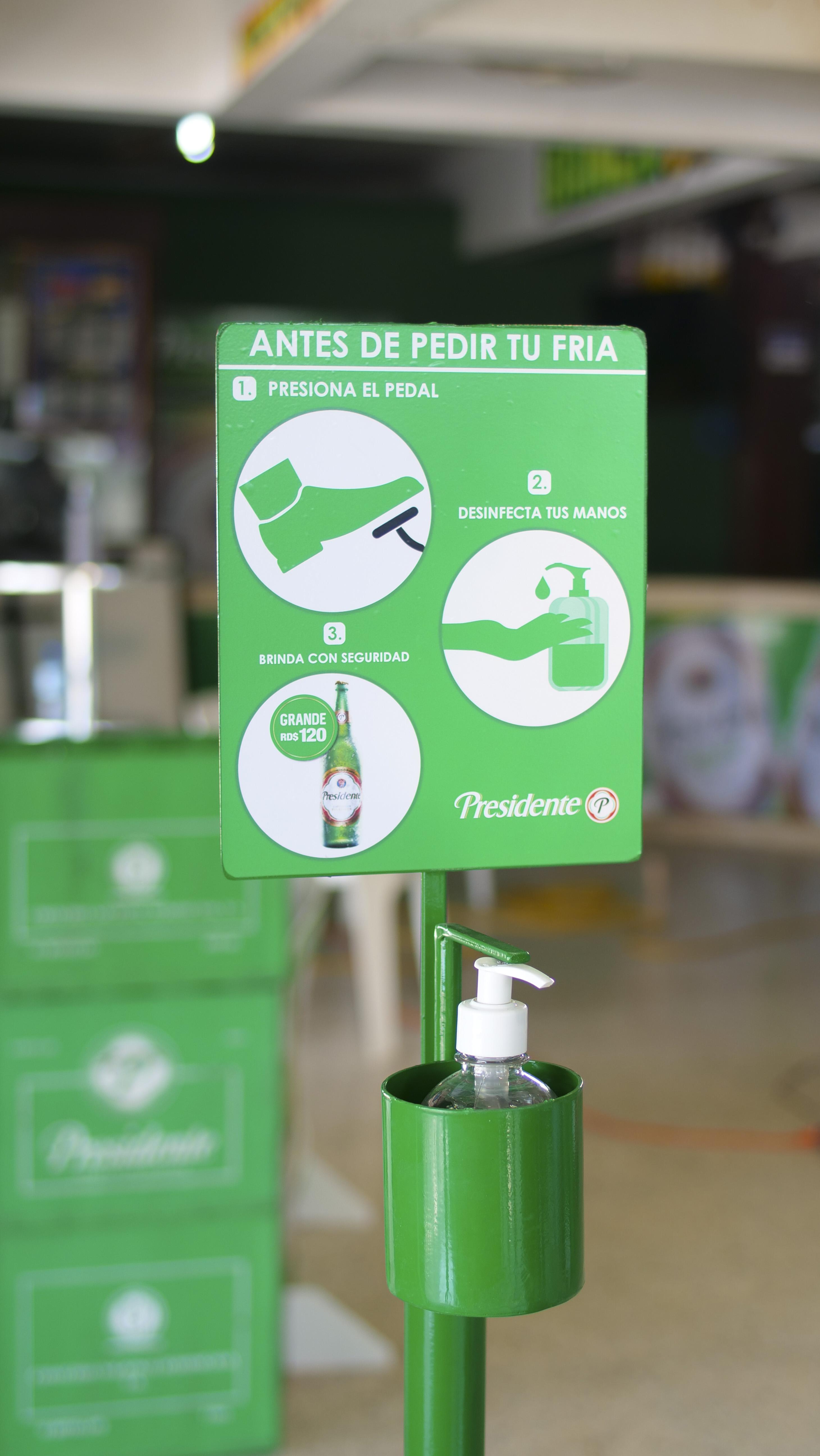 Cervecería anuncia una serie de acciones para hacer de los colmados lugares seguros para los consumidores