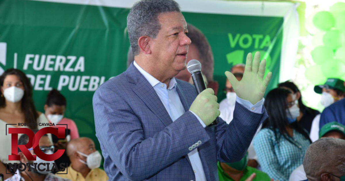 VIDEOS   Leonel dice Gobierno debe priorizar salud y costos en productos de primera necesidad