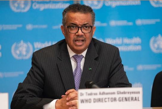 El director de la OMS rechaza la afirmación de Pompeo de que debía su puesto a China