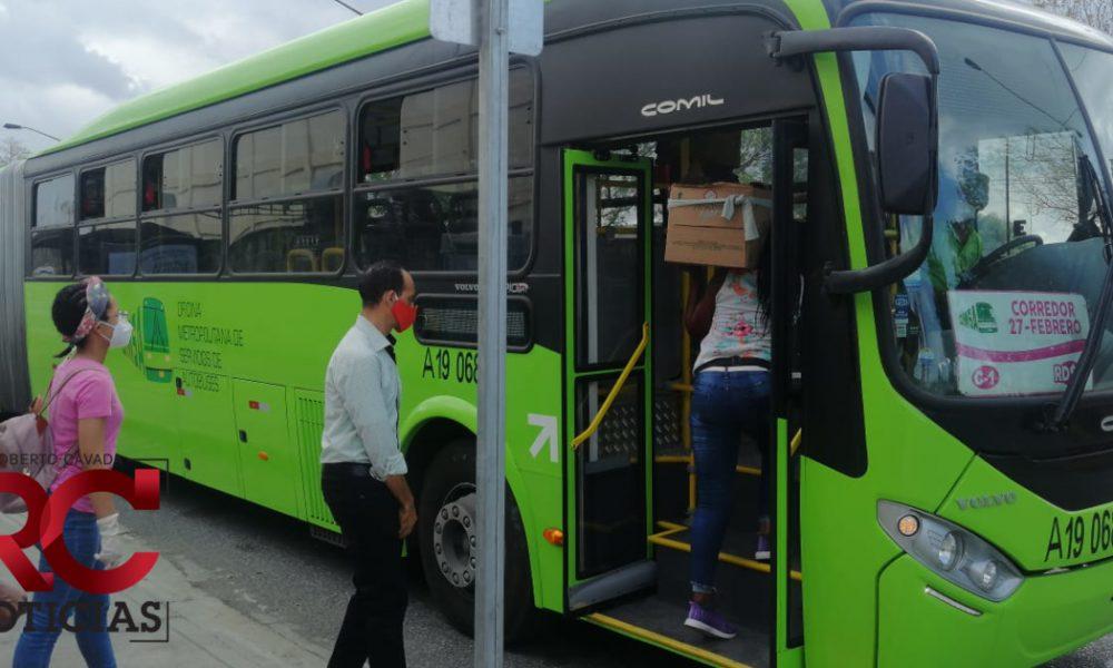 Gabinete Salud informa que transporte público ofrecerá servicios durante horario de libre circulación
