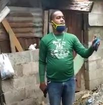 Video | Arrestan cabo acusado de agredir su pareja y amenazar patrulla de la PN en Cristo Rey