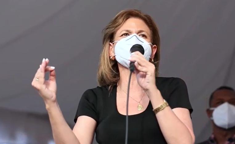 Raquel Peña pide no tener miedo y acudir temprano a votar