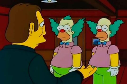 """Se reveló uno de los misterios de """"Los Simpsons"""": por qué Homero y Krusty son casi idénticos"""