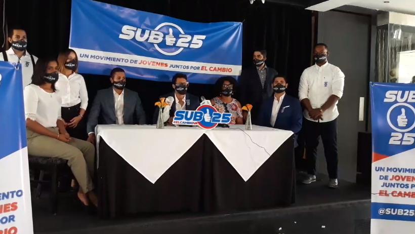 Video | Movimiento Sub25 solicita a DGII otorgar prórroga para pago Impuesto Sobre la Renta