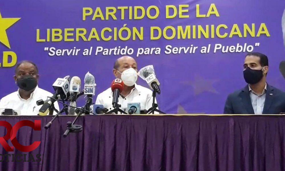 Video   PLD designa integrantes de Comisión Organizadora