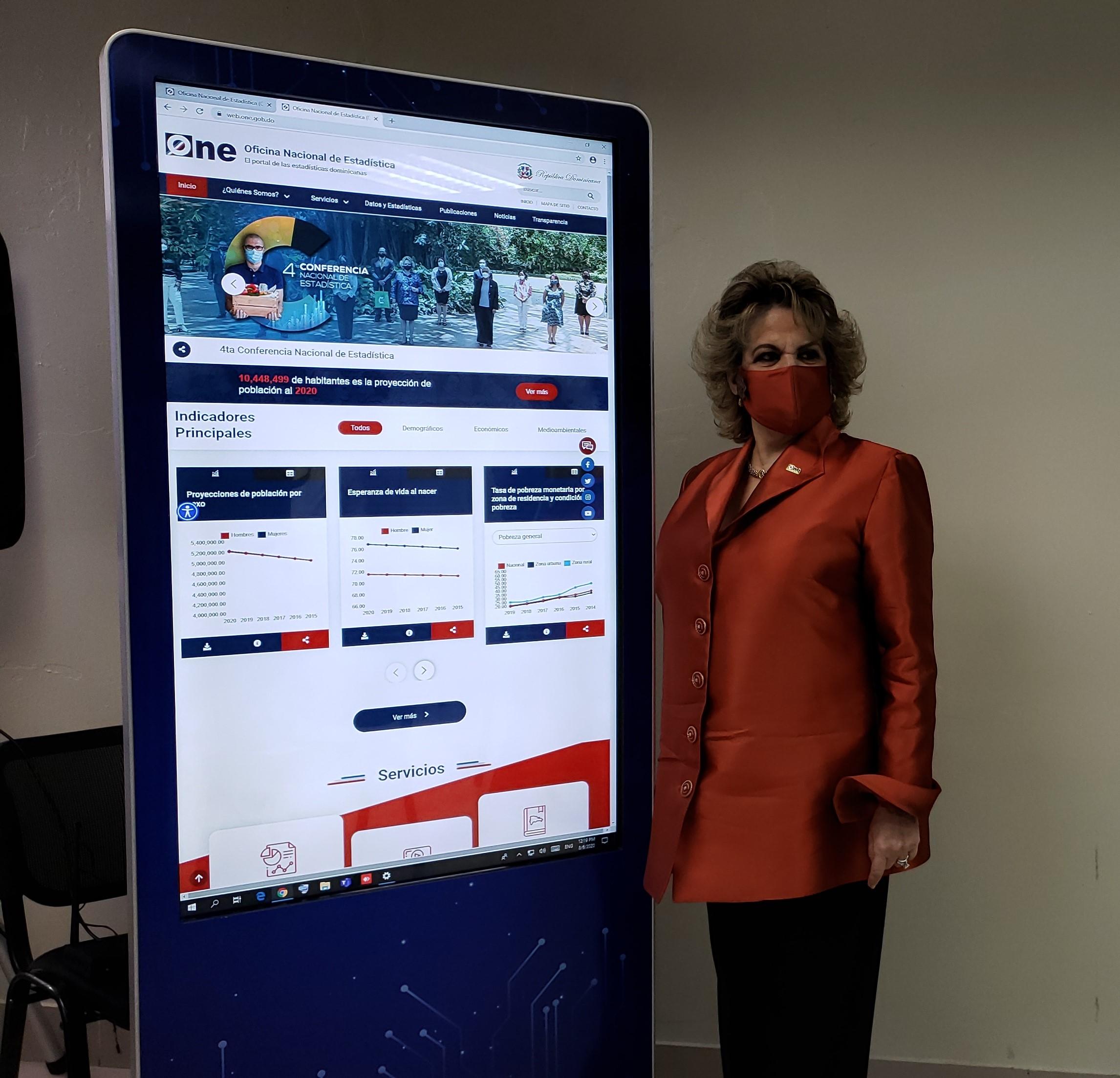 La ONE presenta un nuevo portal web institucional y servicios estadísticos