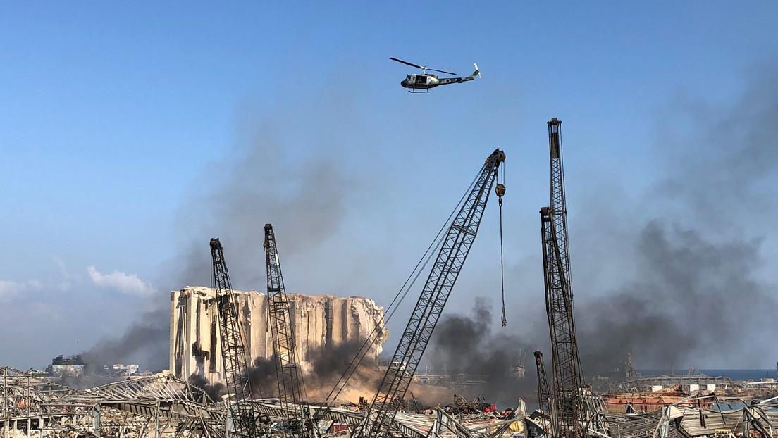 Video | Las zonas afectadas de Beirut, un día después de las devastadoras explosiones
