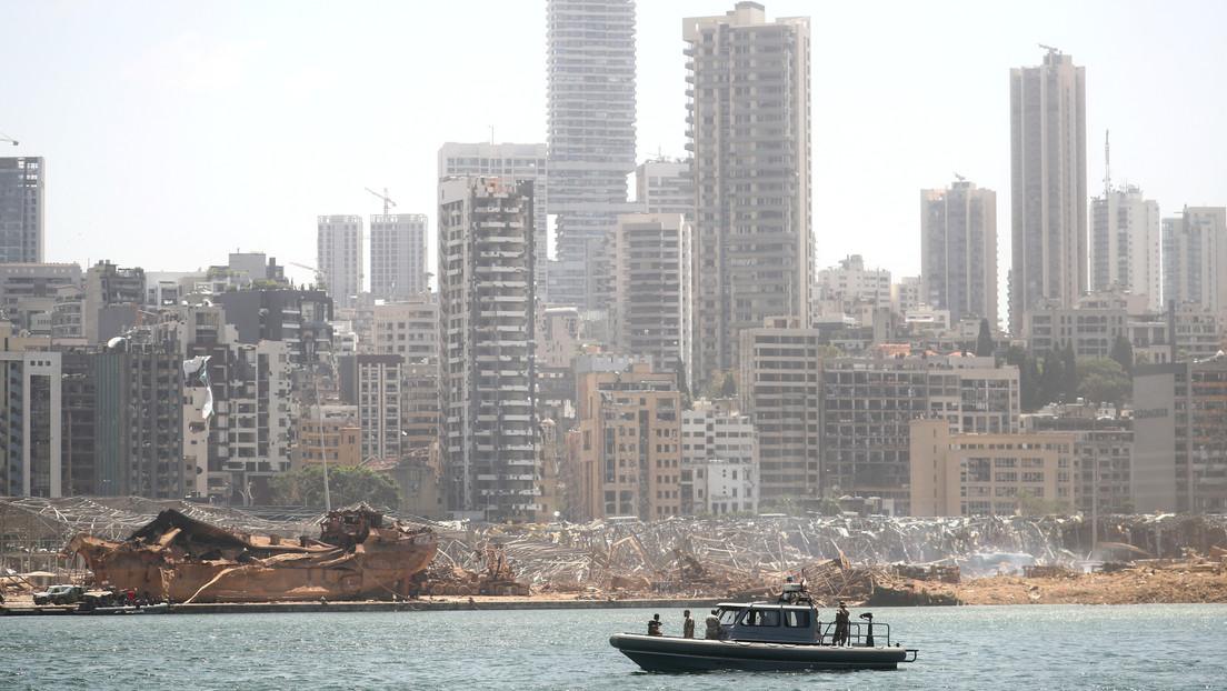 Localizan el barco que transportó el material explosivo supuestamente responsable de la tragedia en Beirut