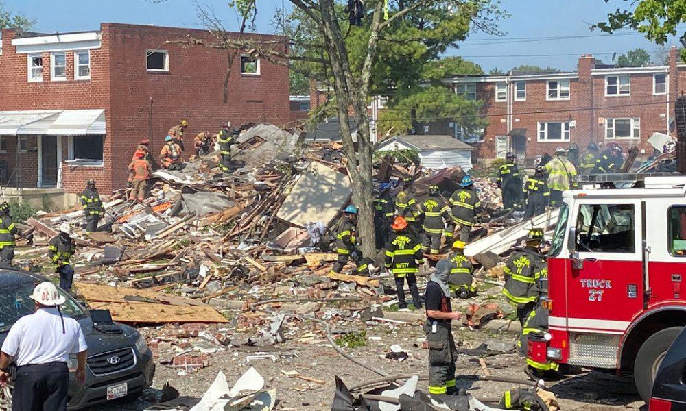 Videos   Un muerto y al menos 2 heridos en estado crítico tras una gran explosión en Baltimore