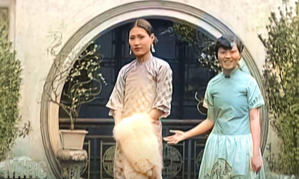 Video | Restauran en color y 4K un desfile de modas de 1929 en Shanghái