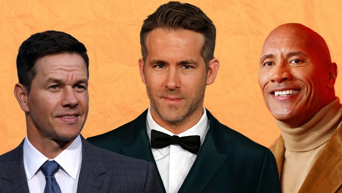 Estos son los 10 actores mejor pagados del 2020