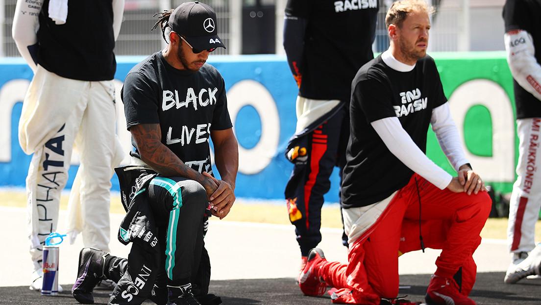 La impactante imagen con la que Lewis Hamilton compara la esclavitud y el racismo en EE.UU.