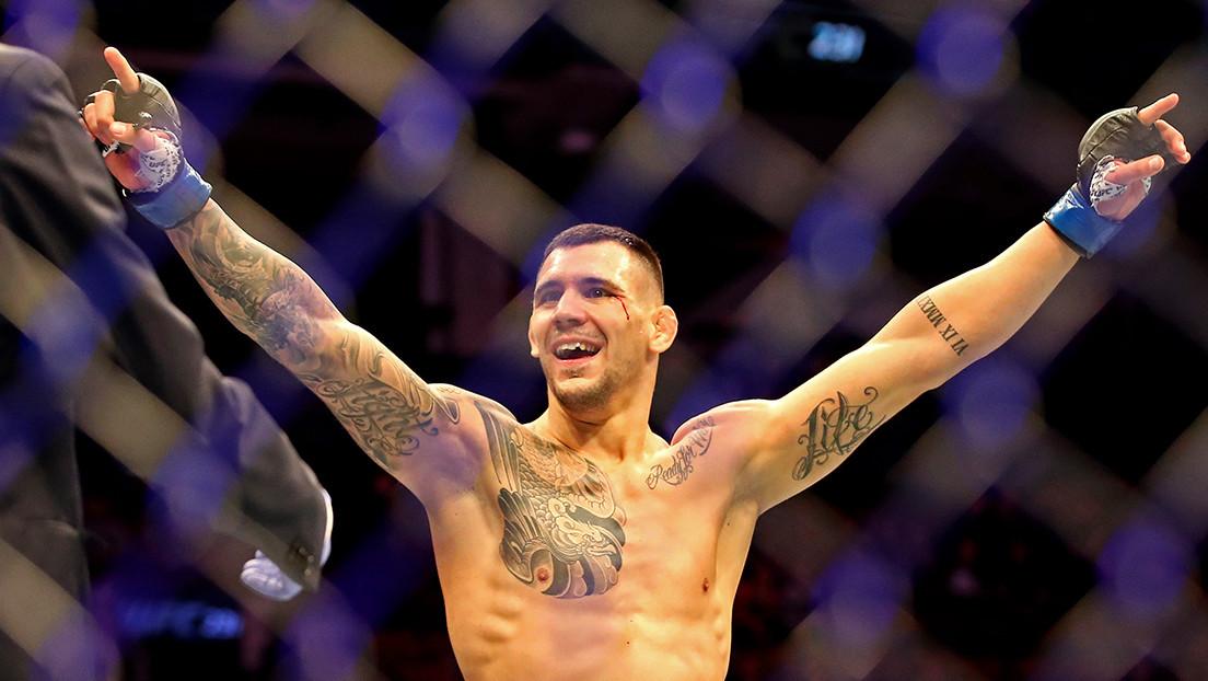 """Aleksandar Rakic gana la pelea estelar de la UFC con """"dominio total"""" y se perfila para el título de los semipesados"""