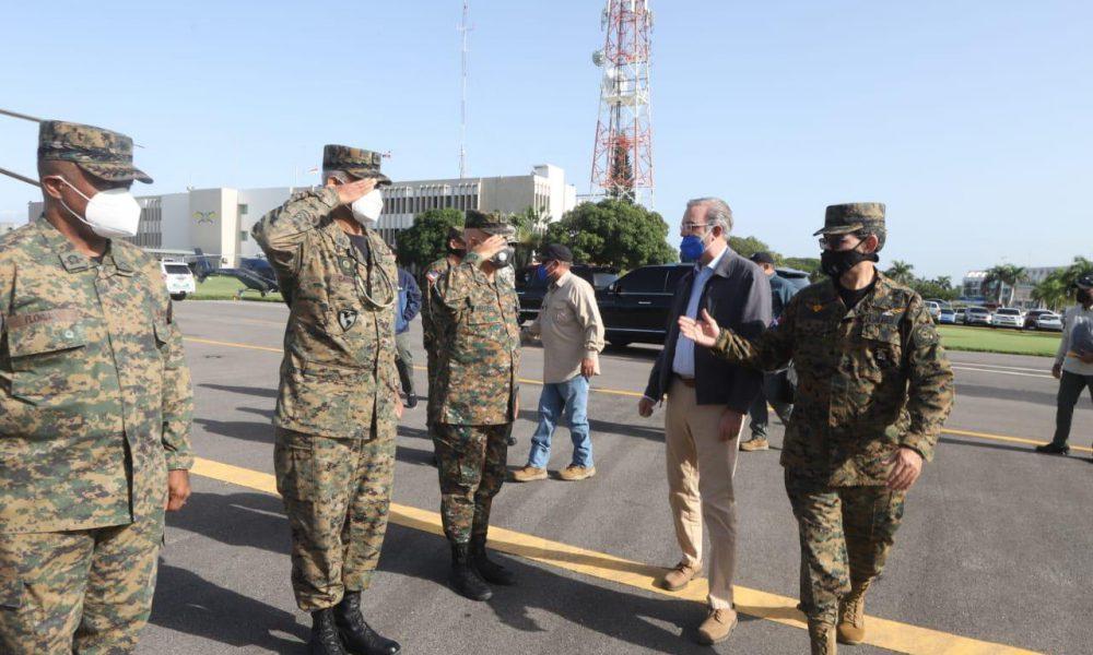 Presidente Abinader instruye a Aduanas e INDRHI a resarcir daños causados por tormenta Laura