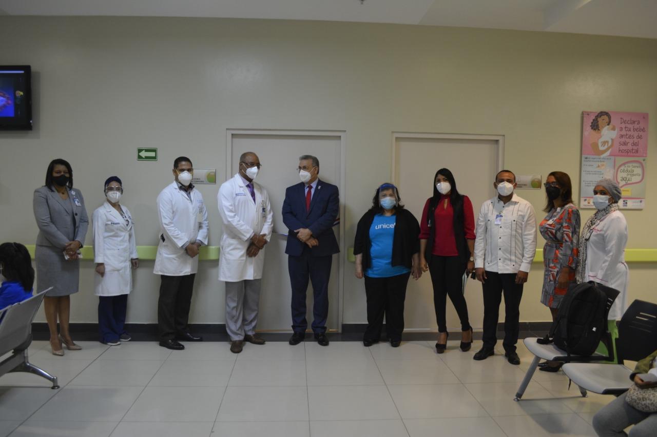 Hospital Materno Dr. Reynaldo Almánzar ya cuenta con el programa Mamá Canguro
