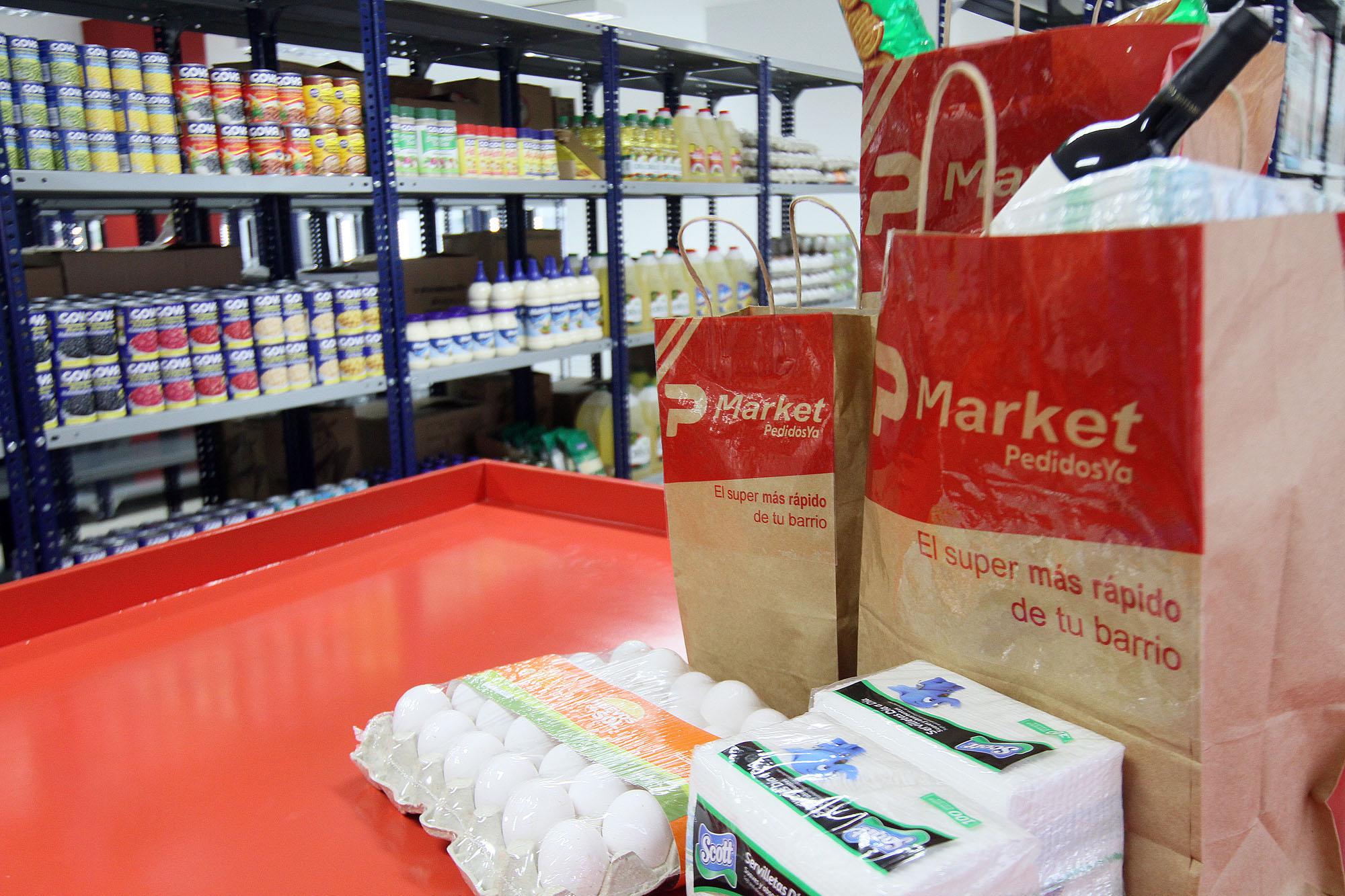 PedidosYa lanza su primer supermercado online