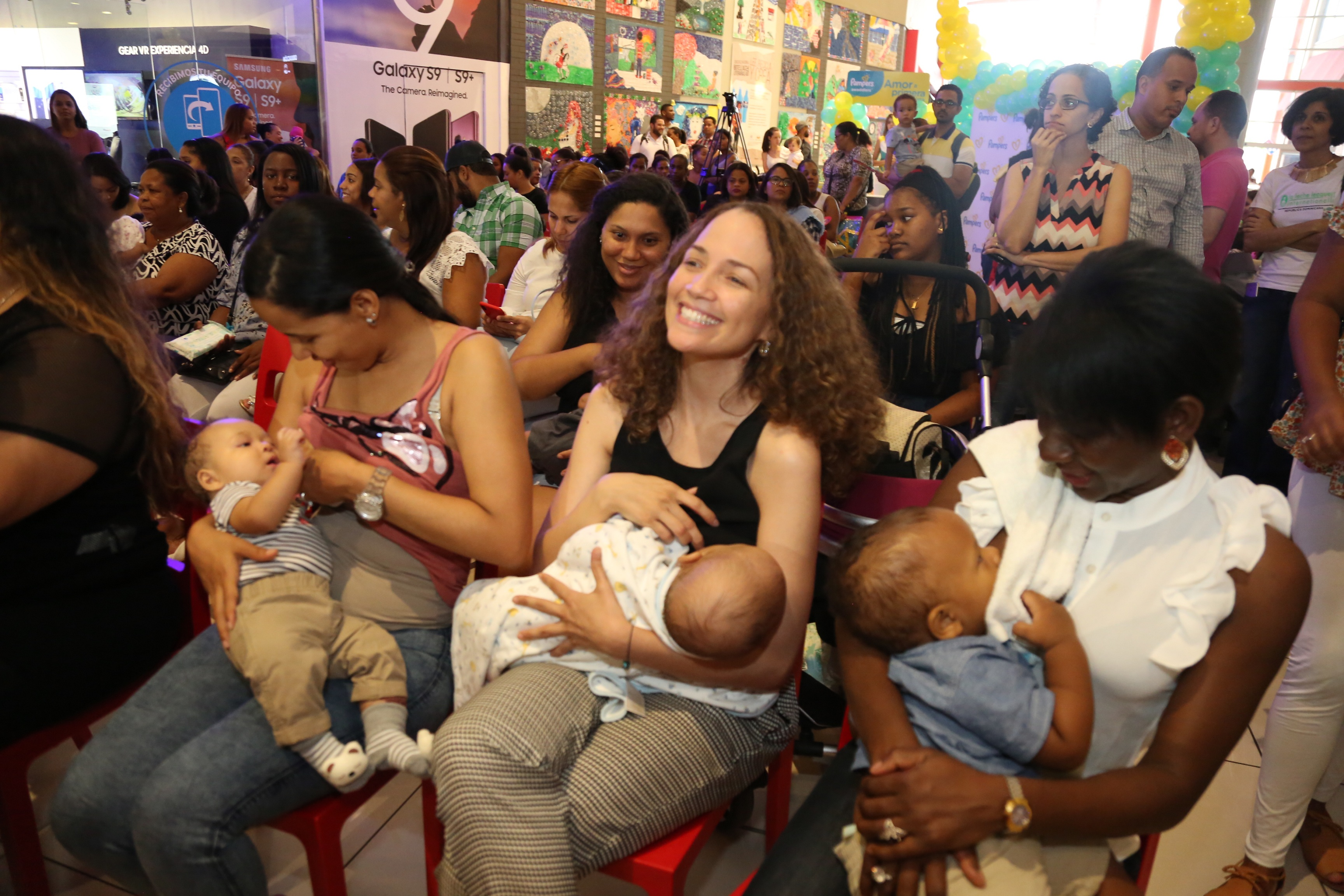 Gestión de Cándida Montilla de Medina ha impulsado iniciativas de lactancia materna