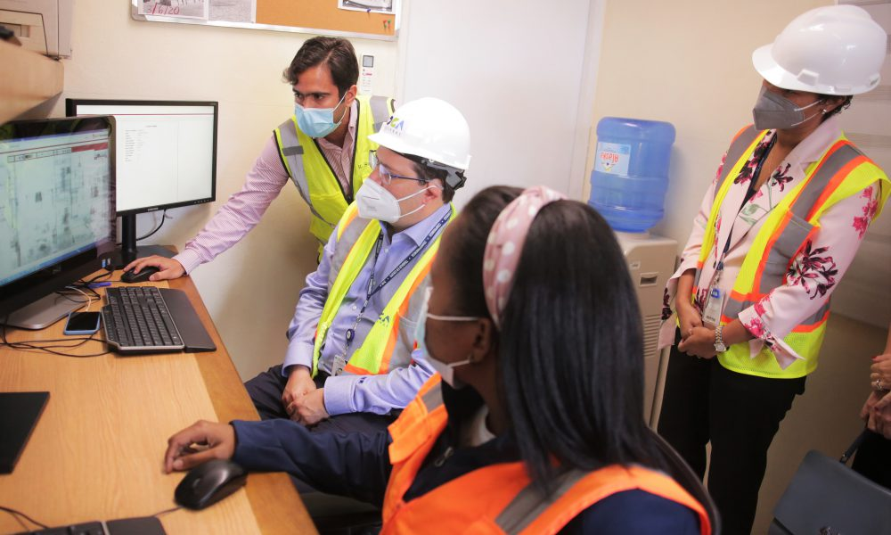 Video | Director general de Aduanas visita instalaciones de DP World Caucedo