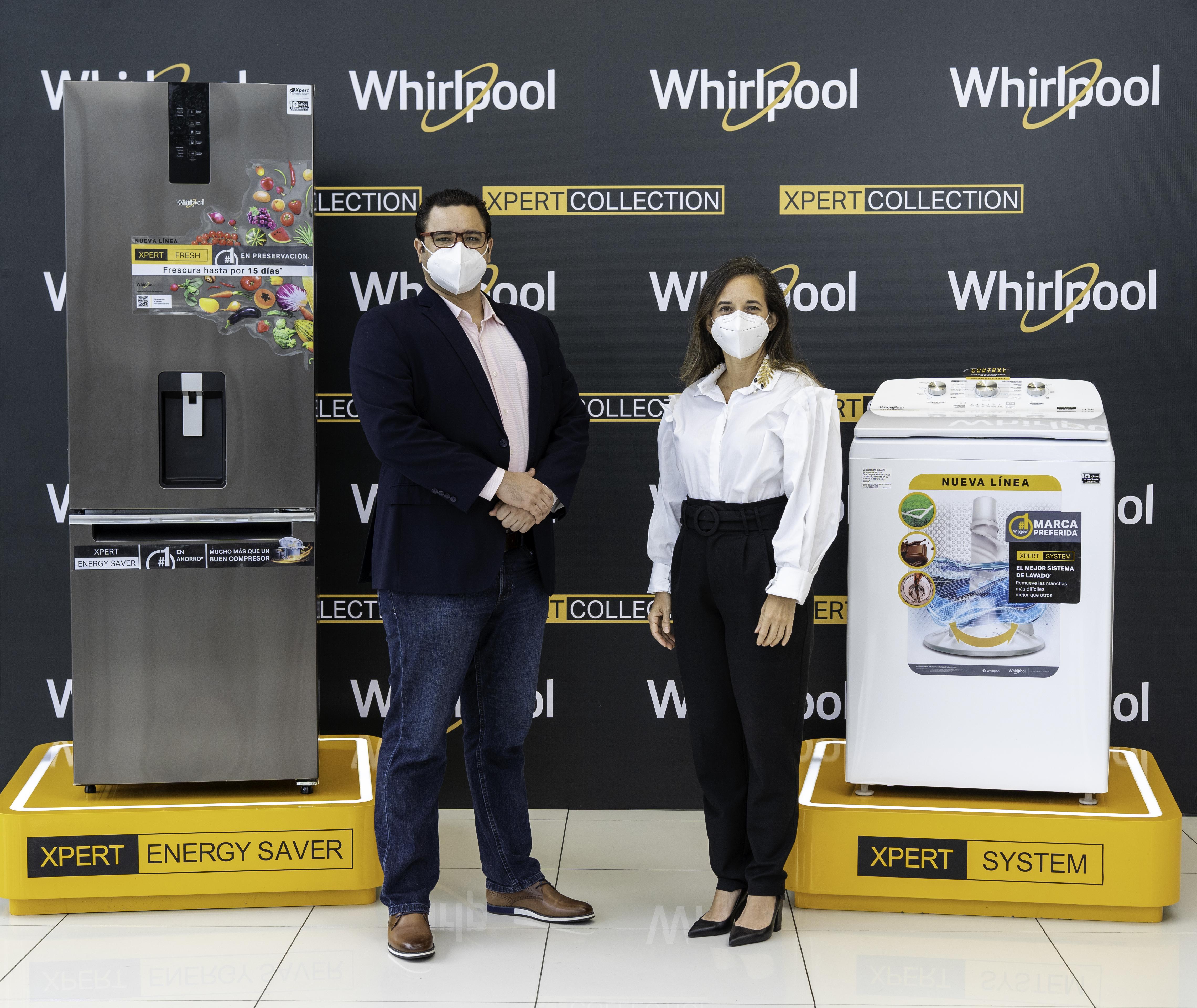 Presentan en el país nueva línea de electrodomésticos Whirlpool