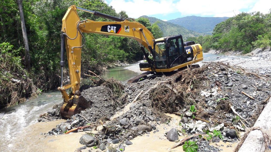 CAASD trabaja en reanudar operaciones del sistema Duey tras las lluvias