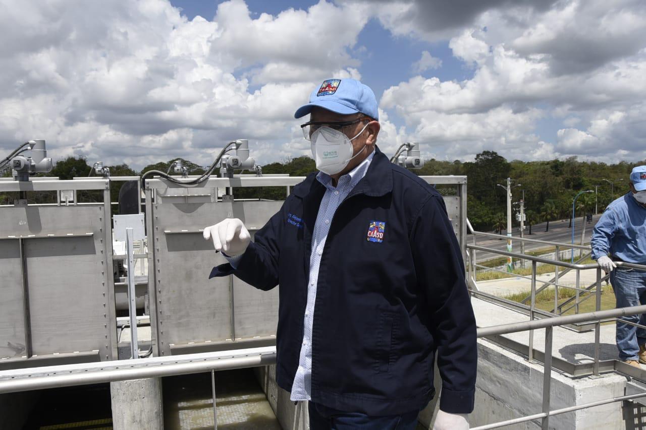 CAASD: producción de agua potable para GSD supera los 400 millones de galones por día