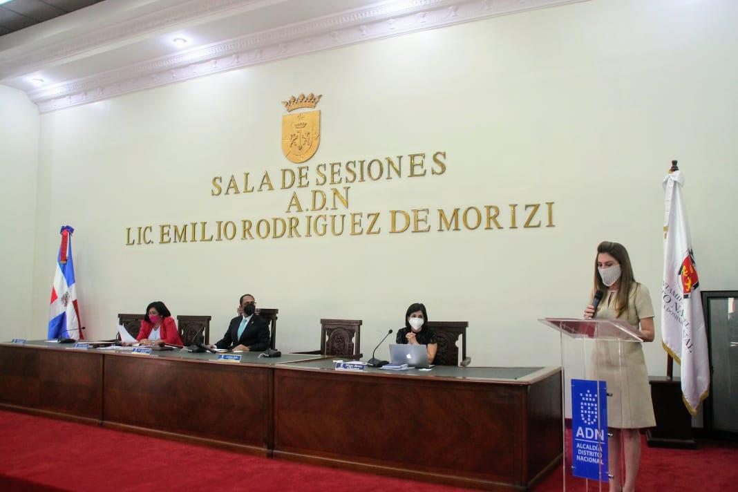 Alcaldesa Carolina mejía rinde informe gestión primeros 100 días ante concejo de regidores