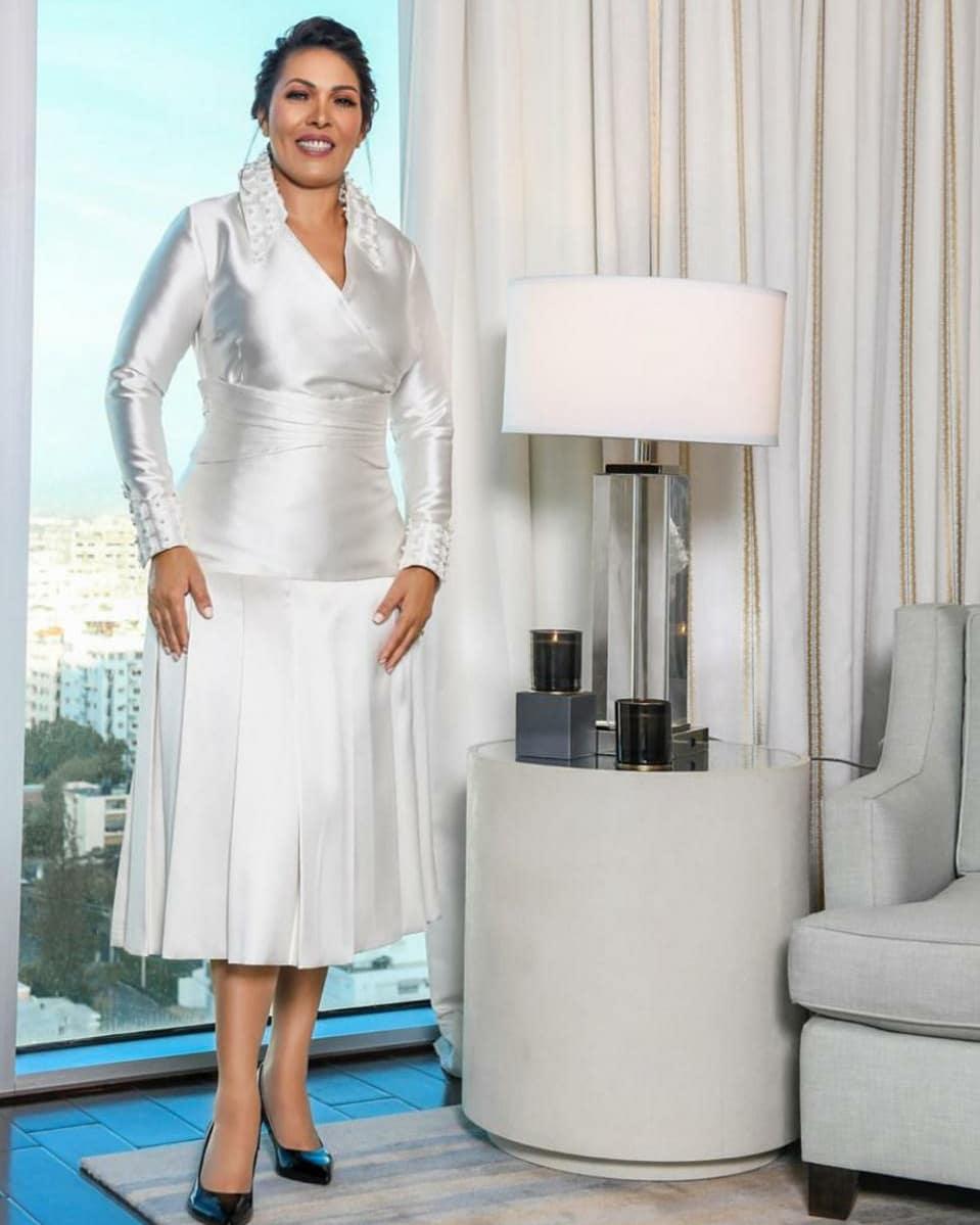 Josefa Mejía ha sido catalogada como una de las diputadas mejor vestidas durante toma de posesión