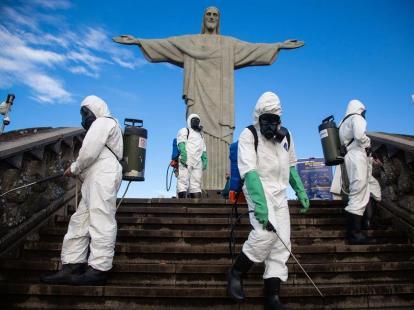 El emblemático Cristo Redentor reabre sus puertas en Río tras cinco meses