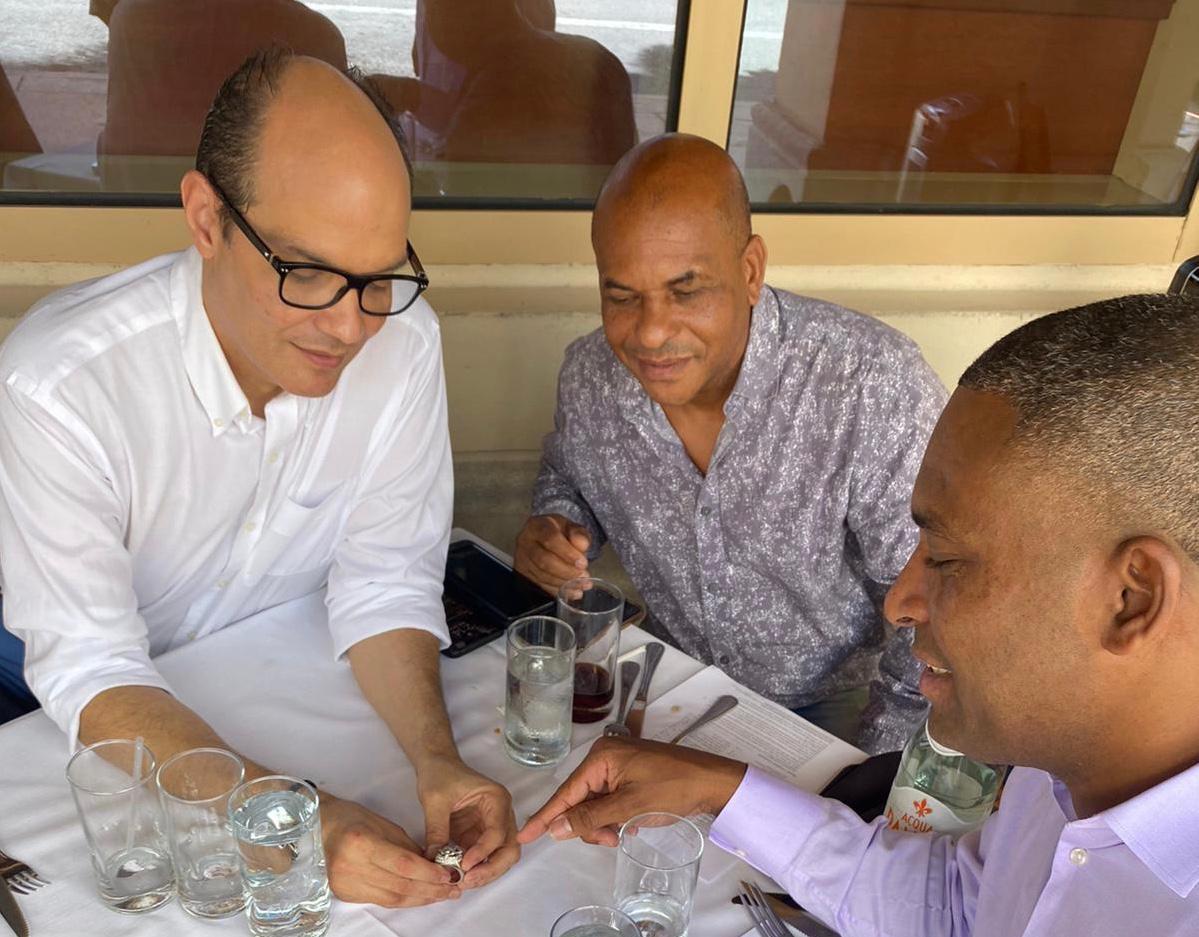 Damáso Marte se une al Partido Esperanza Democrática de Ramfis Domínguez Trujillo