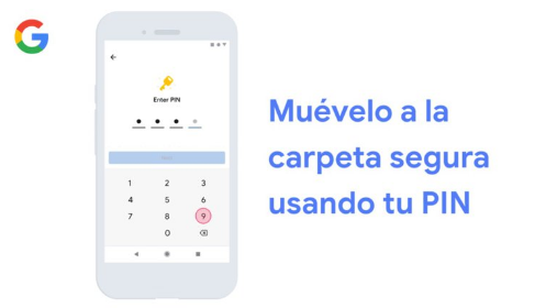 "Google lanzó ""Carpeta Segura"", una opción para cifrar contenido"