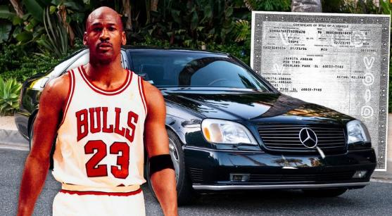 """Subastan el """"Santo Grial"""" de los autos de Michael Jordan: los detalles de lujo y en qué monto está la puja"""