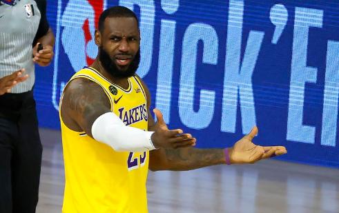 Alarma en la NBA: LeBron James se lesionó y será baja para los Ángeles Lakers
