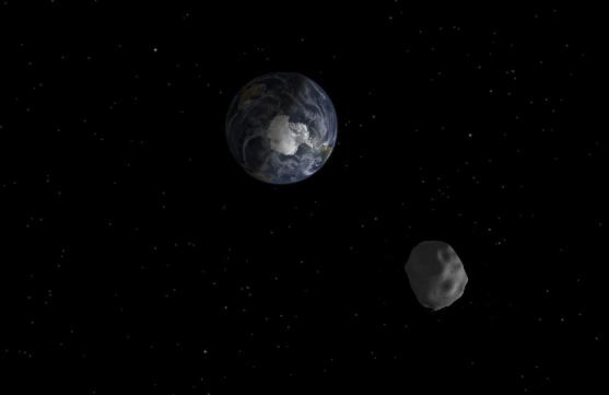 Detectan un nuevo asteroide que podría chocar contra la Tierra