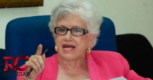 Ortiz Bosch valora decisión de Milagros Germán de no recibir publicidad del Estado mientras sea servidora pública