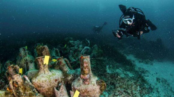 Grecia inauguró su primer museo submarino