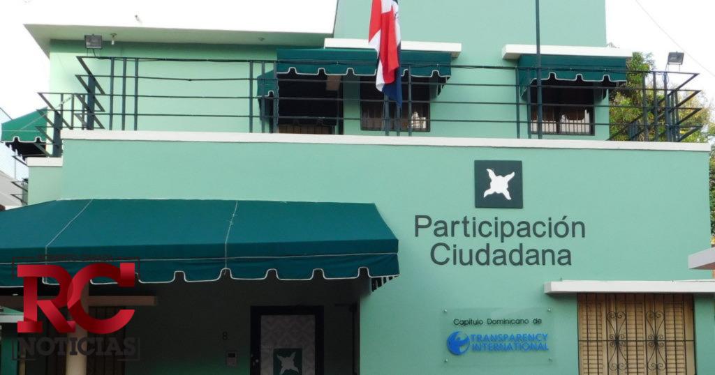 Participación Ciudadana exige profundizar investigaciones Odebrecht ante declaraciones de Ángel rondón