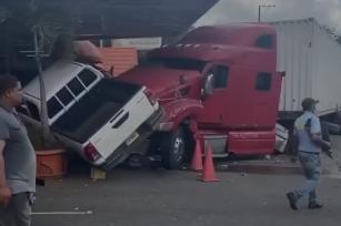 Video | Ocurre accidente en Plaza Jacaranda en Bonao