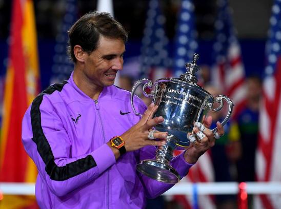 """""""No es lo mismo, pero al menos tenemos un torneo de tenis"""", dice Nadal en Roma"""
