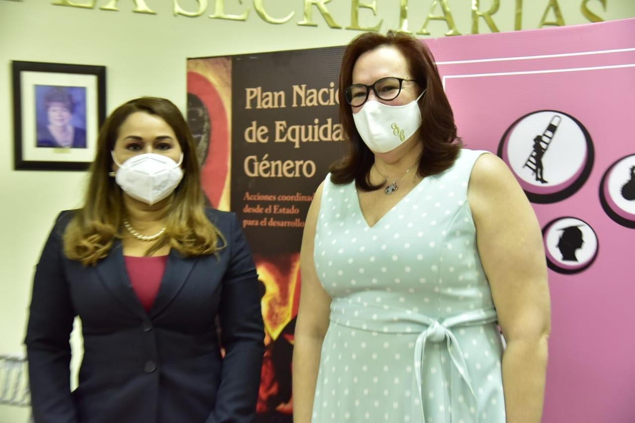 Janet Camilo y Mayra Jiménez coinciden en los grandes retos que enfrenta el Ministerio de la Mujer